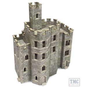 PO294 Metcalfe OO/HO Gauge Castle Hall Card Kit