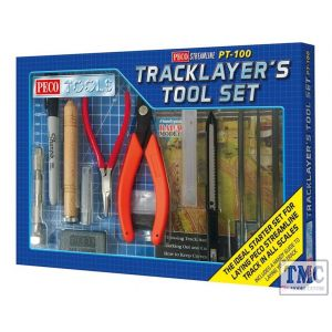 PT-100 Peco Tools Tracklayer's Tool Set