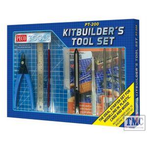 PT-200 Peco Tools Kitbuilder's Tool Set