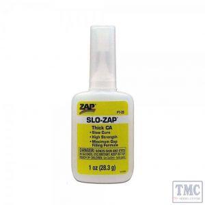 PT20 Slow Zap 1oz Bottle Superglue