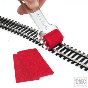 PTC-001 Proses Track Cleaner for Z N TT HO OO Tracks