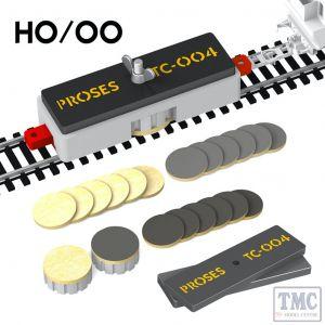 PTC-004 Proses OO Gauge Ultimate Track Cleaning Car (Non-motorised)