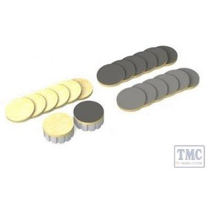 PTC-004S Proses OO Gauge Spare Cleaning Pads for Track Cleaning Car