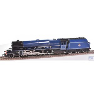 R037 Hornby OO Gauge 4-6-2 Princess Class Lady Patricia 46210 BR Blue E/Emb Crew Coal & Glossed by TMC (Pre-owned)