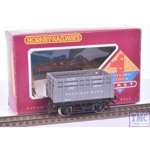 R128 Hornby OO Gauge Coke Wagon Plean Colliery BANNOCKBURN (Wrong Box)(Pre-owned)
