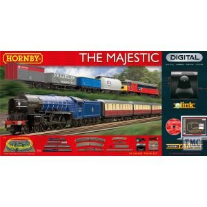 R1172 Hornby OO Gauge The Majestic Digital Train Set with eLink