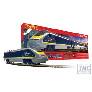 R1176 Hornby OO Gauge Eurostar 2014 Train Analogue Set