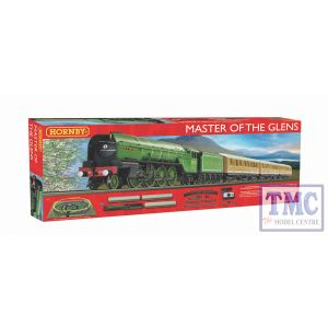 R1183 Hornby OO Gauge Master of the Glens Train Analogue Set
