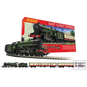 R1214 Hornby OO Gauge East Coast Express Analogue Train Set
