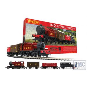 R1228 Hornby OO Gauge Industrial Freight Train Set