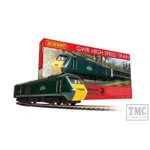R1230M Hornby OO Gauge GWR High Speed Train Set
