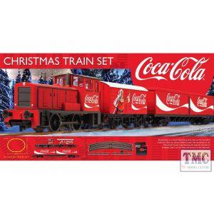 R1233 Hornby OO Gauge The Coca-Cola Christmas Train Set