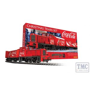 R1233 Hornby OO Gauge The Coca-Cola Christmas Train Set