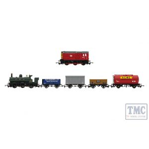 R1236 Hornby OO Gauge Mixed Freight Digital Train Set