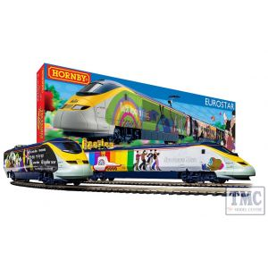 R1253M Hornby OO Gauge Eurostar 'Yellow Submarine' Train Set Class 373