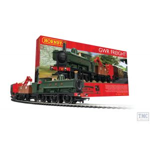 R1254M Hornby OO Gauge GWR Freight Train Set Class 2721