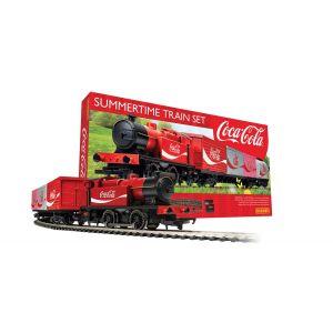 R1276M Hornby OO Gauge (1:76 Scale) Summertime Coca-Cola Train Set