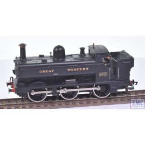 R158 Hornby OO Gauge GWR Pannier 0-6-0PT no.2747 GREAT WESTERN Black (Crew Fitted)(Pre-owned)