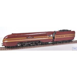 R2199M Hornby OO Gauge 4-6-2 Streamlined Coronation 6220 LMS Crimson Lake Coal Crew & Glossed by TMC (Pre-owned)