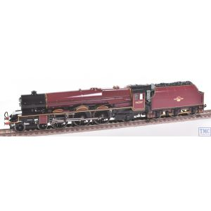 R2447 Hornby OO Gauge 4-6-2 Princess Arthur of Connaught 46207 BR Maroon L/Crest Coal Crew & High Gloss Finish by TMC (Pre-owned