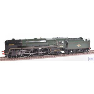 R2719 Hornby OO Gauge 4-6-2 Robin Hood 70038 BR Green L/Crest Crew Coal & Glossed by TMC (Pre-owned)