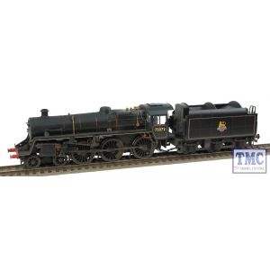 R3016X Hornby OO/HO Standard Class 4 75072 Early BR (S&DJR)(DCC Fitted) Real Coal Weathered by TMC