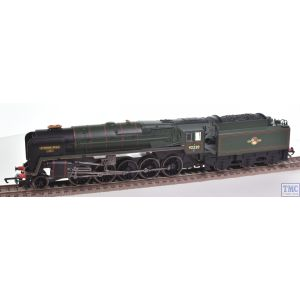 R3072M Hornby OO Gauge 2-10-0 Class 9F Evening Star 92220 BR Lined Green Hornby Legends Collection (Pre-owned)