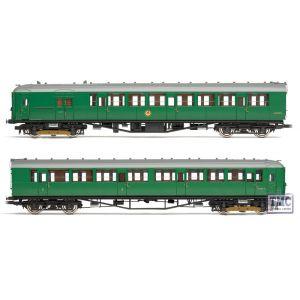 R3162A Hornby HO/OO Gauge R3162A Hornby HO/OO Gauge BR 2 -BIL Car Emu Pack