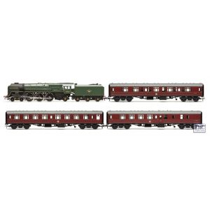"R3192 Hornby HO/OO Gauge 'Heritage Rail Express' BR Class 8 ""Duke of Gloucester"" Sp. Ed. Train Pack"