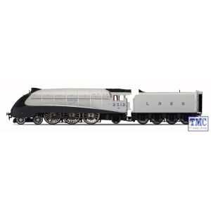 R3309 Hornby OO Gauge LNER 4-6-2 Silver Jubilee 80th Anniversary Limited Edition Silver Fox