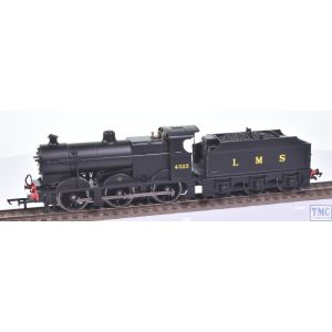 R3313 Hornby OO Gauge LMS Class 4F 0-6-0 4323 LMS Unlined Black