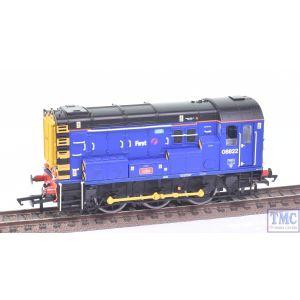 R3343 Hornby OO Gauge 0-6-0 Class 08 FGW no.08822 (Pre-owned)