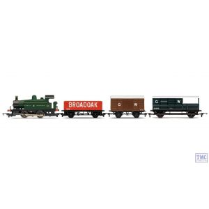 R3489 Hornby OO Gauge RailRoad GWR Freight Train Pack