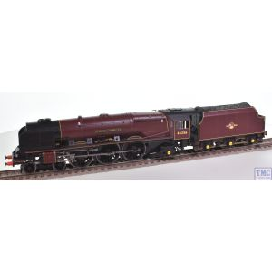 R3555 Hornby OO Gauge BR 4-6-2 Sir William A. Stanier 46256 Princess Coronation Class (Modified) Late BR Red