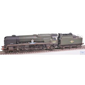 R3638 Hornby OO Gauge West Country Class 4-6-2 34019 Bideford BR Green L/Crest Real Coal & Extra Detail Weathering by TMC