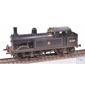 R3631 Hornby OO Gauge BR Wainwright H Class 0-4-4T no.31265 (Era 4) E/Emb Real Coal & Deluxe Weathering by TMC