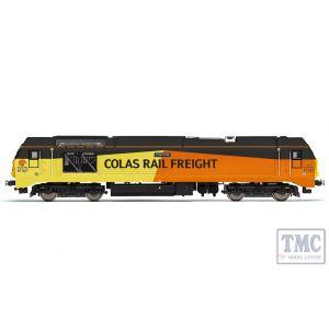 R3659 Hornby OO Gauge Colas Rail Freight Class 67 Bo-Bo 67027 Charlotte