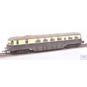 R3669 Hornby OO Gauge Railroad GWR AEC Diesel Railcar No.24 (Era 4) Weathered by TMC