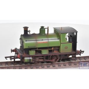 R3680 Hornby OO Gauge Charity Colliery Peckett W4 Class 0-4-0ST 'Forest No. 1' - Era 2