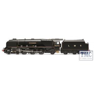 R3681 Hornby OO Gauge LMS, Princess Coronation Class, 4-6-2, 6241 'City of Edinburgh' - Era 3