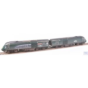 R3696 Hornby OO Gauge GWR Cl.43 HST Power Cars 43093 Old Oak Common HST Depot 1976-2018 and 43016 (Era 11) Weathered by TMC