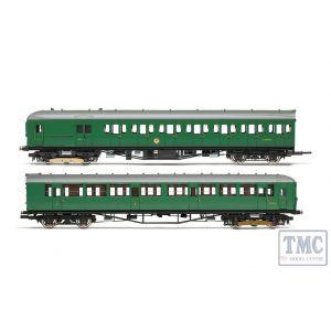 R3699 Hornby OO Gauge BR 2-HIL Unit 2611; (HAL) DMBT No. 10729 and (BIL) DTC(L) No. 12146 - Era 5