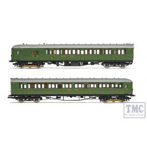 R3700 Hornby OO Gauge SR 2-BIL Unit 2152; DMBT(L) No. 10718 and DTC(L) No. 12185 - Era 3