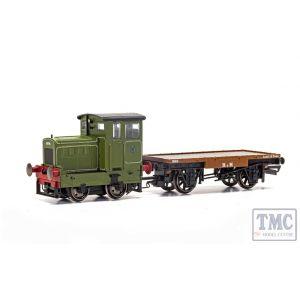 R3704 Hornby OO Gauge Ruston & Hornsby Ltd R&H 48DS 0-4-0 No. 269595 - Era 4