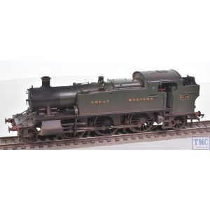 R3721 Hornby OO Gauge GWR Class 61xx Large Prairie 2-6-2T no.6110 (Era 3) Real Coal and Weathered by TMC