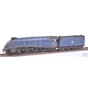 R3737 Hornby OO Gauge BR A4 Class 4-6-2 no.60022 Mallard (Era 4) Weathered by TMC (Pre-owned)