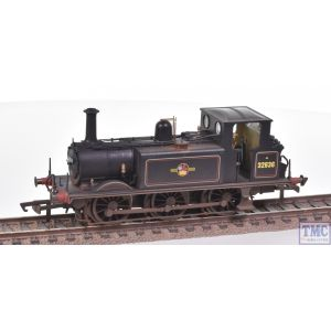 R3768X Hornby OO Gauge BR Terrier 0-6-0T no.32636 (Era 5)(DCC Fitted) Real Coal & Weathered by TMC