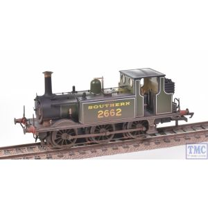 R3783X Hornby OO Gauge SR Terrier 0-6-0T no.2662 (Era 3)(DCC Fitted) Real Coal & Deluxe Weathering by TMC
