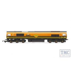 R3786 Hornby OO Gauge G&W/Freightliner, Class 66, Co-Co, 66413 - Era 11