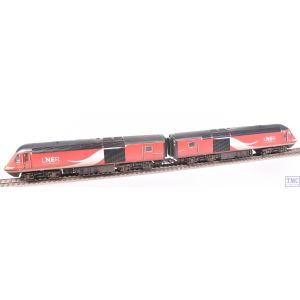 R3802 Hornby OO Gauge LNER Class 43 HST Power Cars nos.43315/43309 (Era 11) Weathered by TMC